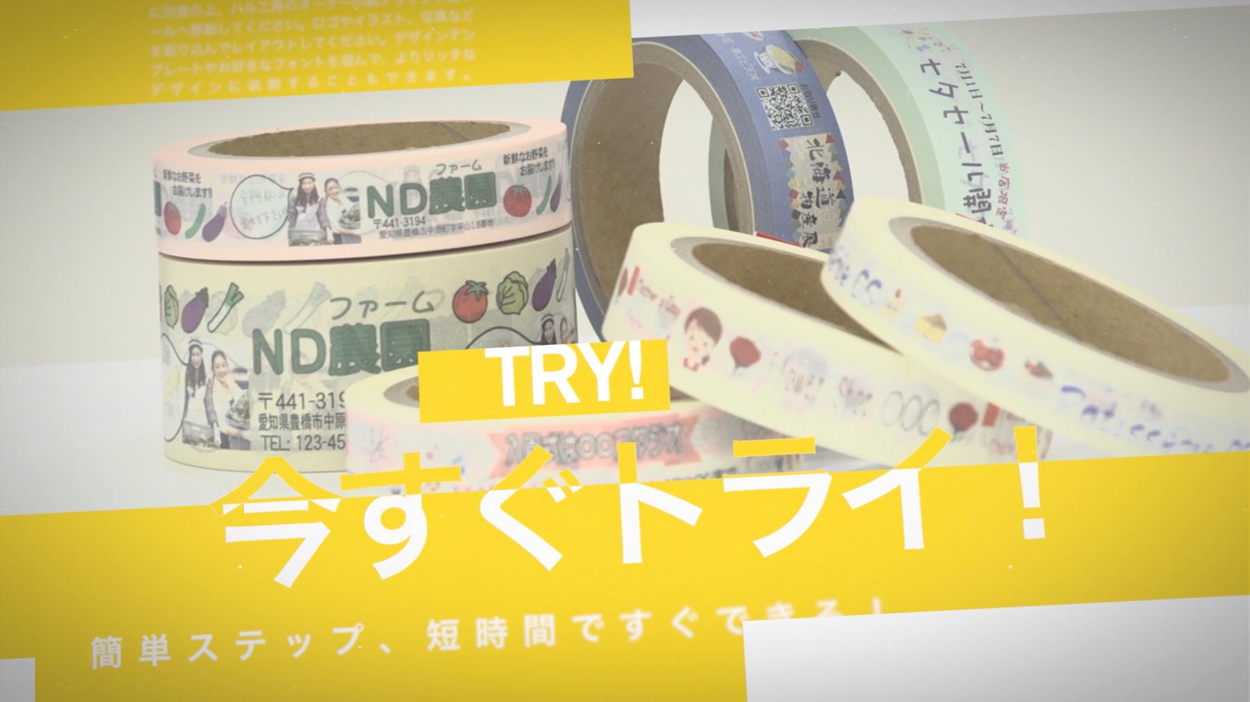 WebCMハルメイド販促動画