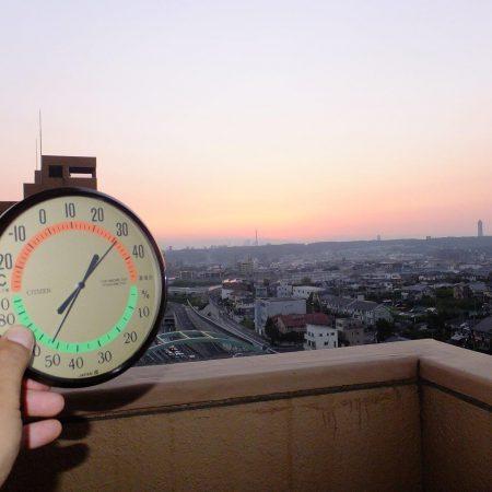 名古屋の暑さ