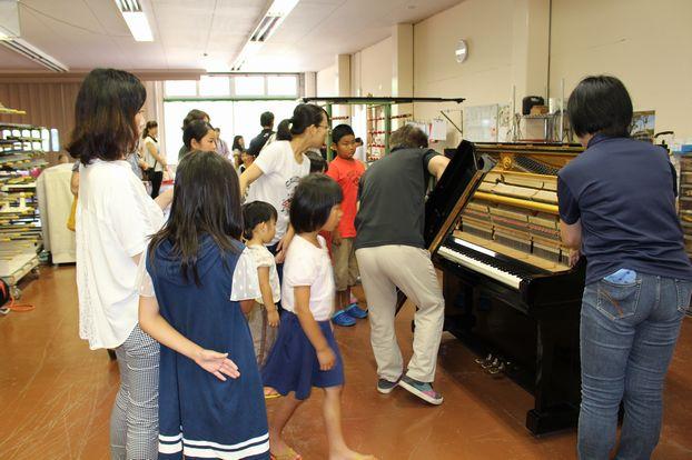ピアノ工房体験学習02